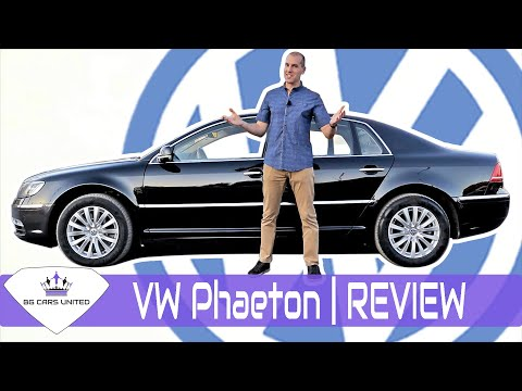 VW Phaeton Review - струва ли си? | BG CARS UNITED