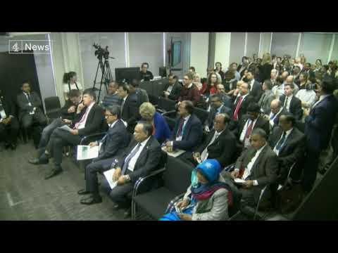"""Bangladesh Prime Minister Sheikh Hasina refuses to answer questions on human rights record"""