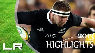 Kieran Read Highlights - All Blacks 2013 IRB Player of the Year [HD]