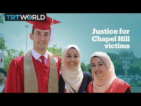 Chapel Hill shooter sentenced to life for killing 3 Muslim neighbours