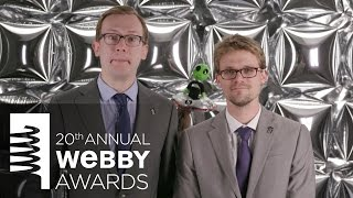 Cracked's 5-Word Speech at the 20th Annual Webby Awards