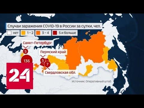 В Подмосковье коронавирус заподозрили еще у 83 жителей - Россия 24
