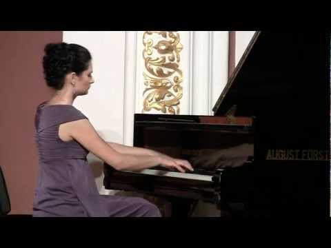 Alina Uddin plays Chopin  Waltz A Minor posthumous. Recording from the recital, September 2011, Sumy Region Philharmonic Hall, Sumy, Ukraine