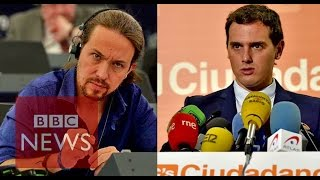 Spain's new political heavyweights - BBC News