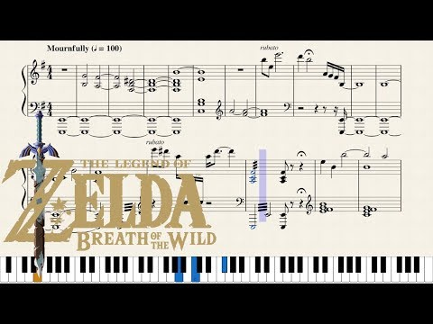 """Legend of Zelda: Breath of the Wild - """"Switch Trailer"""" [Piano Sheet Music] 