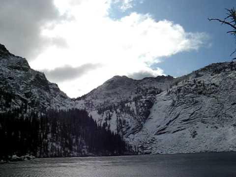 Hunt Lake, Selkirk Mountains