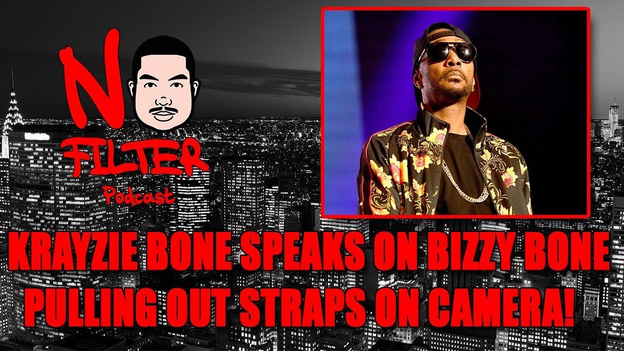 Krayzie Bone Speaks On Bizzy Bone Pulling Out Straps On Camera! (Bone Thugs Vs Migos Beef)