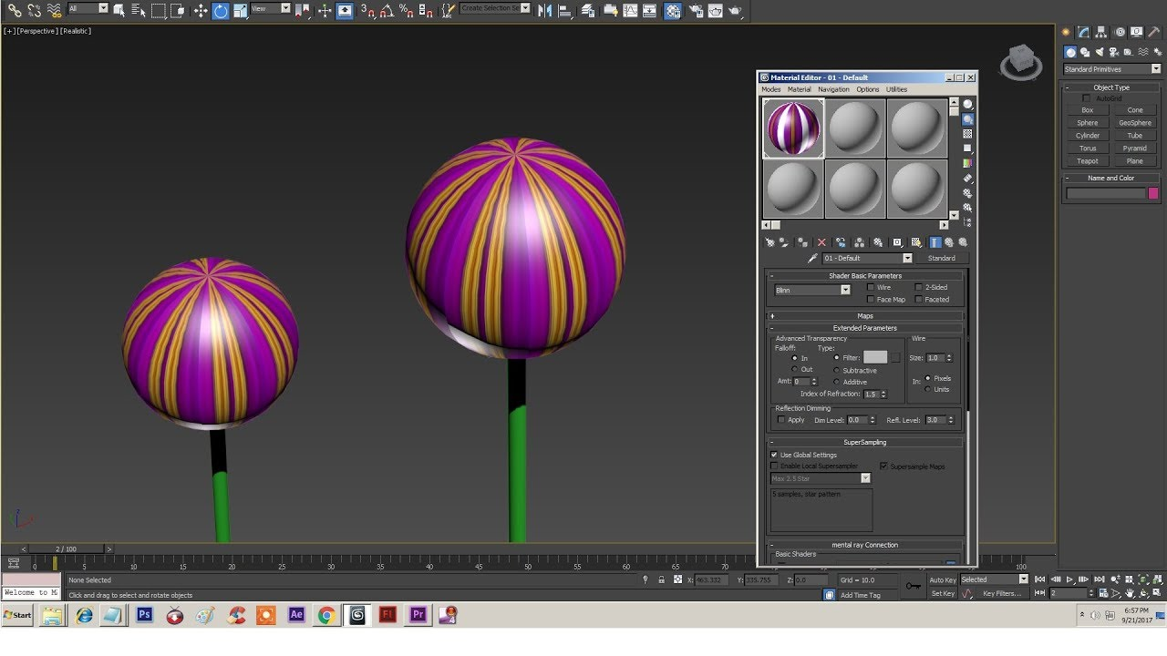 How to bend objects in 3ds max