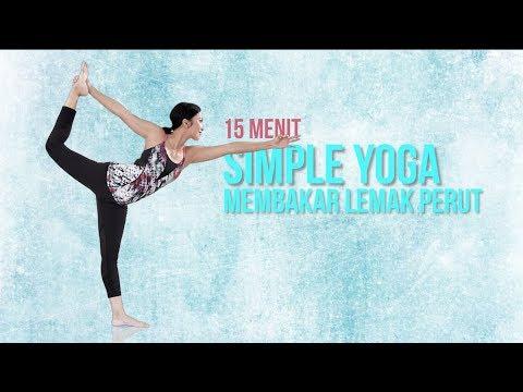 Cara Membakar Lemak Perut Dengan Gerakan Yoga   15 Menit Simple Yoga