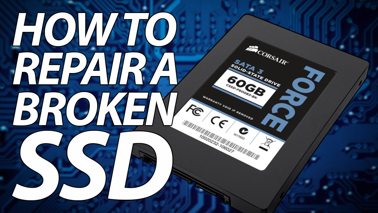 How to repair an SSD