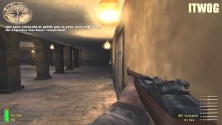 Medal Of Honor:Allied Assault (2002) #1 (HD PC GAMEPLAY)