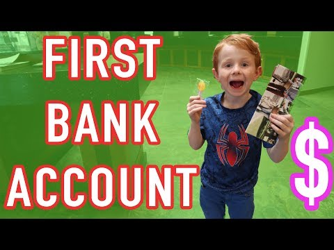 His First Bank Account