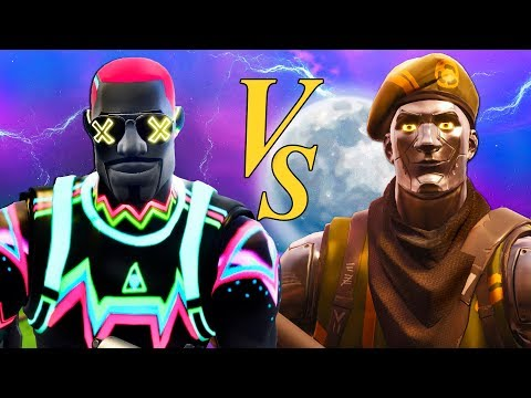FORTNITE SKINS BATTLE! LITESHOW VS DIECAST! NEW SEASON 5 Fortnite Short Film