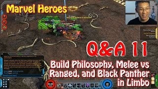 Marvel Heroes Q&A: Build Philosophy, Melee vs Ranged, and Black Panther in Limbo