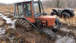 Турбо-Трактор против вездехода Секач. Разведка тяжелого маршрута