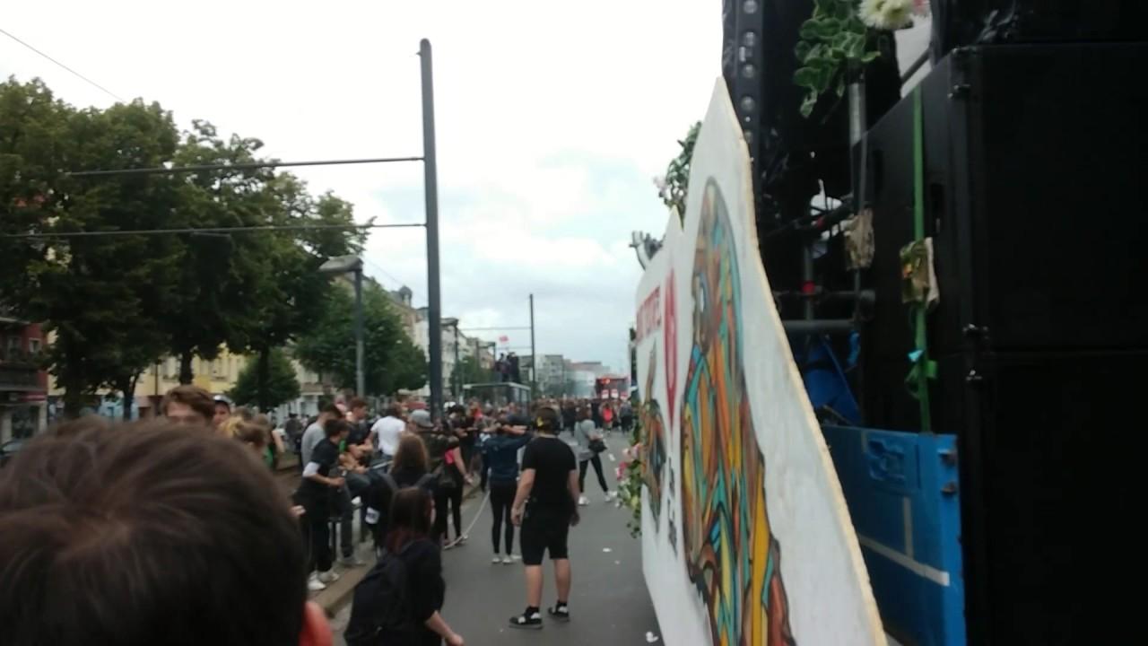 zug der liebe ehemals love parade am 1 in berlin danziger str 6 9 youtube. Black Bedroom Furniture Sets. Home Design Ideas