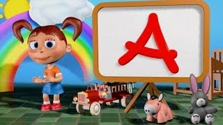 ABC Song 3D | Family Sing Along - Muffin Songs