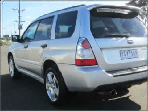 2007 Subaru Forester Xt Luxury Traralgon Vic Youtube