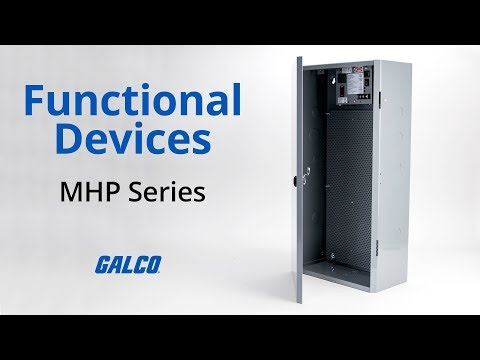 Functional Device's MHP Series Enclosure Mounted Power Supplies
