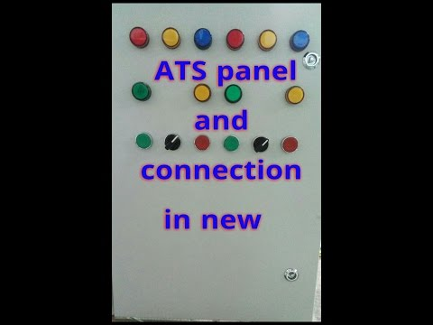 auto transfer switch (ats) working and ats control panel wiring diagram automatic changeover switch using contactors pdf ats panel wiring diagram wiring diagram