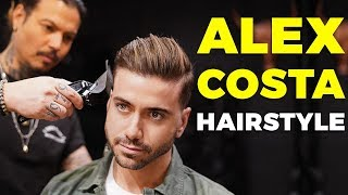 How To Get the Alex Costa Haircut and Hairstyle ft. Daniel Alfonso | Alex Costa