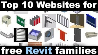 Top 10 Websites to Download Free Revit Families and Components