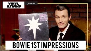 David Bowie - No Plan EP 1st Impressions