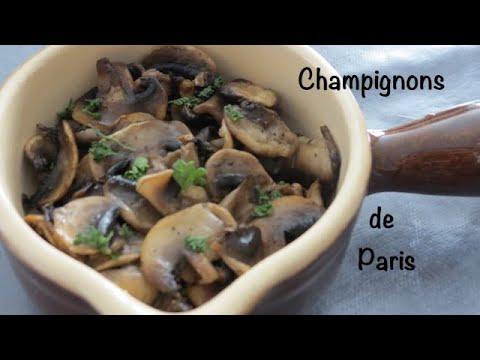 préparer-des-champignons-de-paris---recette-facile