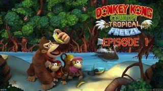 [Donkey Kong Country : Tropical Freeze] Playthrough FR - Episode 1 : Le retour de Dixie!