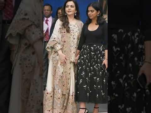 collection factory| lehanga fashion| ambani family| trending fashion|