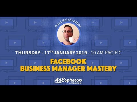Facebook Business Manager Mastery