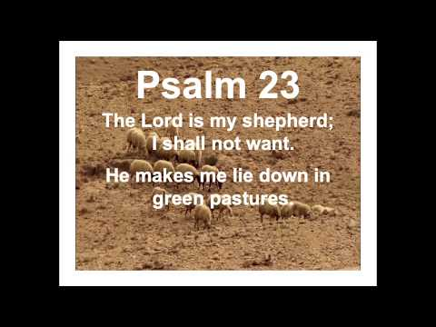 """Green"" Pastures (Psalm 23) by Pastor Tim Freidel"