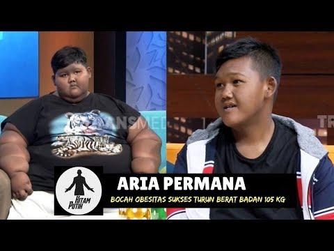 Transformasi ARIA PERMANA: Turunkan Berat Badan 105 Kg | HITAM PUTIH (13/02/19) Part 1
