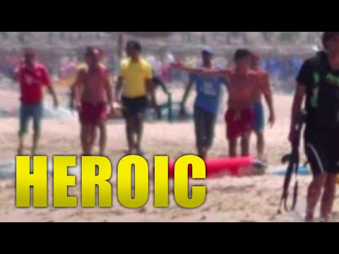 Heroes Formed 'Human Shield' During Bloody Tunisian Beach Attack
