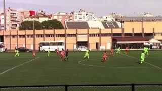 U-15 Türkiye Şampiyonası 2018 Aydın Turnuvası Gaziemir FK - Uşak Bölmespor  1.Devre