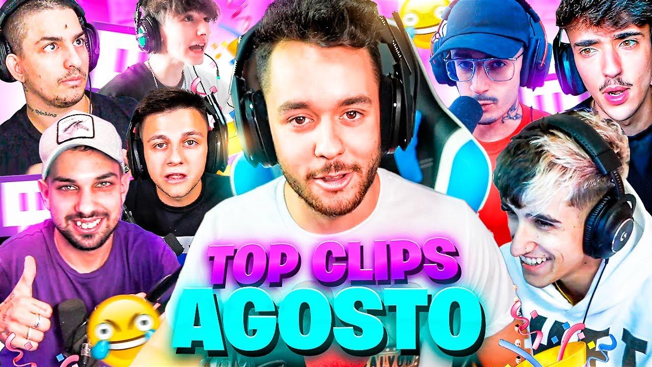 Download 🥳 TOP CLIPS AGOSTO 🥳 - Mejores Momentos Twitch España & LATAM #mejoresmomentos #twitch