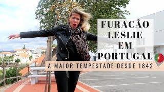 FURACÃO LESLIE EM PORTUGAL