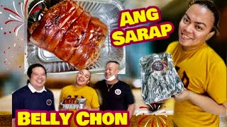 LECHON BELLY BY ROE'S TAKEOUT BY CHEF PAUL | SOCIAL CLIMBERS | BRENDA MAGE