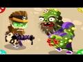 🐾 ВТОРЖЕНИЕ ЗОМБЯКОВ. #3. С ЧИТАМИ. Опять нападение в игре для детей Zombie Incursion. Flash games