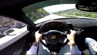 POV Drive: Ferrari 458 Speciale with Fi Exhaust!