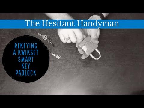 Hesitant Handyman Repairs - Rekeying a Kwikset padlock