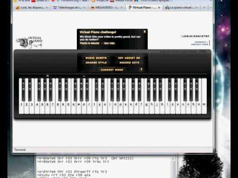 [Virtual Piano] Pantera - Cemetery Gates Intro