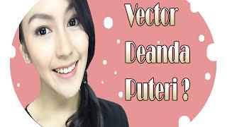 Tutorial Vector Vexel Portrait Photoshop | Deanda Puteri