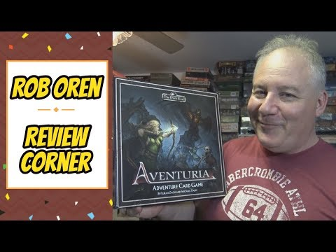 Rob's Review - The Dark Eye: Aventuria Adventure Card Game