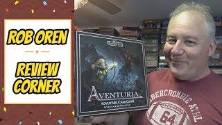 Rob's Review - The Dark Eye: Aventuria Adventure Card Game