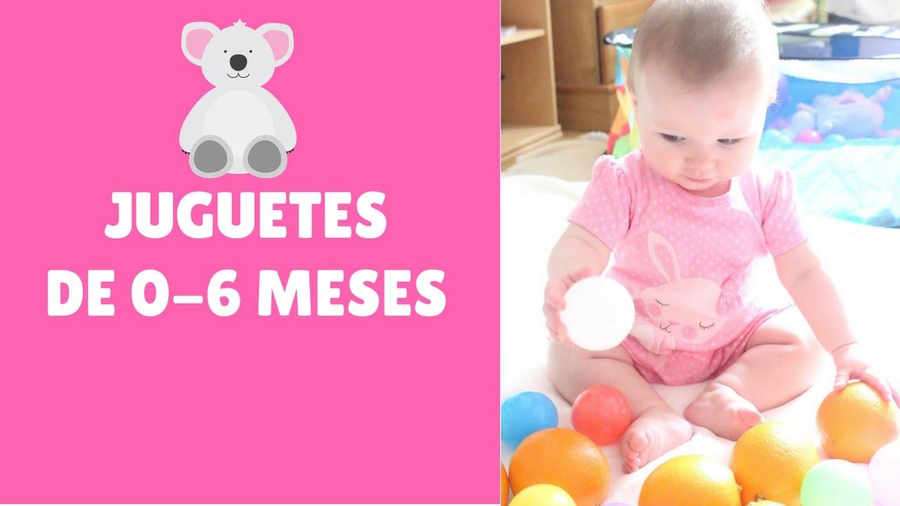 Juguetes Para Entretener A Bebés De 0 A 6 Meses Youtube