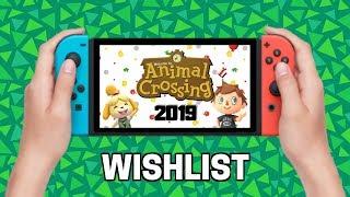 My WISHLIST for Animal Crossing SWITCH