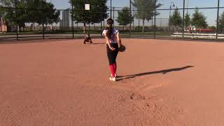 Backdoor Curve Pitcher View