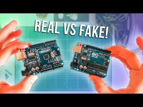 Real Arduino UNO Vs. Clone UNO R3 - Is The Genuine A Genu-Win??