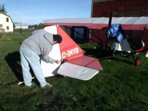 Beaver RX550 Ultralight sail cloth testing demo